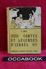Contes et legendes d'Israël - A. Weil - 1933