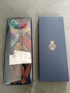 POLO RALPH LAUREN BRACES MENS £159 WITH LEATHER AND BRASS NEW SUSPENDERS BEAR