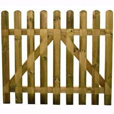 Cancello in Legno Blinky per Recinzione mod. Girasole Cm.100X100H