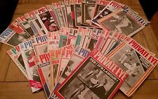 Job Lot 35 x Private eye magazines 1986 - 1991 numbers from 646 - 782
