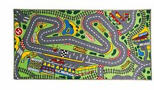 Children's Rugs Matrix Kiddy Formula 1 Washable Play Mat/Rug Multi  80x120 cms