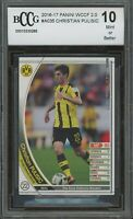 2016-17 panini wccf 2.0 CHRISTIAN PULISIC rookie BGS BCCG 10