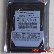 "TOSHIBA 80 GB HDD (MK8032GSX) SATA 5400 RPM 2.5"" 8 MB Hard Disk Drive Free ship"