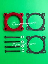 Fit 04-13 Nissan Titan/Armada 5.6L/04-10 Infiniti QX56 Throttle Body Spacer Red