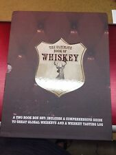 THE ULTIMATE BOOK OF WHISKEY BY PARAGON, BOXED W/TASTING JOURNAL