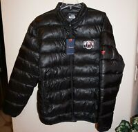 Fanatics NHL Hockey Black Polyester Puffer Jacket Mens Sz 2XL NEW Unknown Team