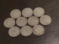 Old Us Type coins 10 liberty -V- nickels