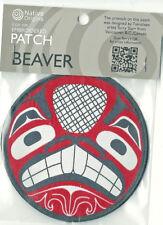 Beaver Native Art Souvenir Patch