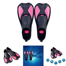 New listing Swimming Fins Diving Swimming Set Foot Duck Webbed Men and Women Fins S5I4