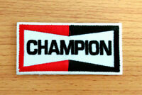 Champion Iron On Patch Sew Embroidered Moto GP Racing Motorcycle Logo Sponsor