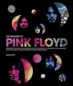 The Treasures of Pink Floyd by Glenn Povey Book The Cheap Fast Free Post