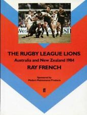 Very Good, Rugby League Lions: Australia and New Zealand, 1984, French, Ray, Pap