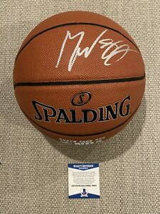 BECKETT COA! MIKEY WILLIAMS Signed Autographed Basketball Prodigy