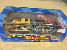 Hot Wheels Exclusive Funny Car Racing Team 4 Vehicle Set New In Sealed Box