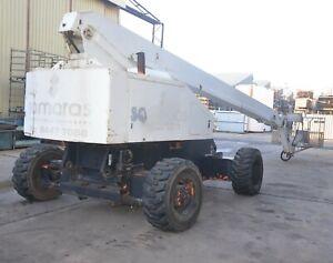 JLG INDUSTRIES 80HX+6  86' 26.2m 230kg SWL BOOM LIFT CHERRY PICKER Diesel Motor