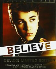 Justin Bieber - Believe Deluxe Limited Edition Zinepak - CD + MAGAZINE + CARDS