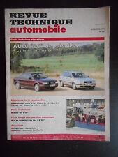 Revue technique automobile n°556 11/1993 Audi 80 depuis 1992 4 cylindres essence