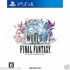 World of Final Fantasy SONY PS4 PLAYSTATION JAPANESE NEW JAPANZON