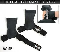 kango Fintess Pro WeightLifting Straps Power Lifting Hooks Wraps Gym Gloves