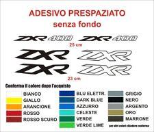 Kit Adesivi Kawasaki ZXR 400 decals fianchetti serbatoio stickers moto auto
