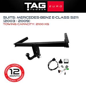 TAG Euro Towbar Fits Mercedes Benz E-Class 2003 - 2009 2100Kg Towing Capacity
