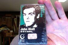 John Hiatt- All of a Sudden- 1982- new/sealed cassette tape