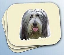 Bearded Collie Dog Head Computer Mouse Pad Mousepad