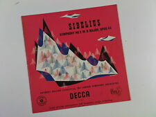 lp SIBELIUS symphony 2 , decca , anthony collins LSO