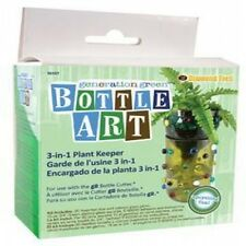 Stained Glass Supplies Generation Green Bottle Cutter Planter Craft Kit New