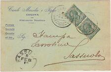 CESENA - RISTORANTE STAZIONE - CASALI MARSILIO E FIGLIO (FORLI) 1909