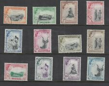 SWAZILAND 55-66 QE II PICTORIAL DEFINITIVES SCARCE COMPLETE USED SET LIGHT CANCE
