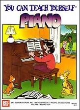 You Can Teach Yourself Piano by Matt Dennis (1989, Book, Other)