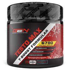 TESTO MAX - 270 Kapseln Ultra Hochdosiert - Testosteron PCT Steroid-Alternative