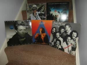 JOB LOT COLLECTION OF 1970's ROCK,POP VINYL LP's ALBUMS x 20 VG-EX