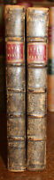 1737 Fables of the Late John GAY 2 Vols 5th and 2nd Editions Illustrated