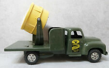 Vintage Buddy L Pressed Steel U.S. Army Searchlight Truck Pressed Steel