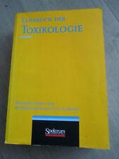 Lehrbuch der TOXIKOLOGIE Marquardt / Schäfer Spektrum Vlg Ausgabe 1997