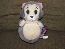 "Super CuTe Disney Plush CAT FiGaRo Pinocchio Sega Round Bottom 7.5 "" NEW"