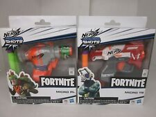 2 NERF MICRO SHOTS FORTNITE - MICRO TS & MICRO RL - 2 DARTS EACH AP 1851
