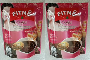 2 x FITNE Coffee Instant Coffee Mix Collagen Weight Control Shape Slimming 150g