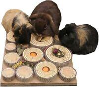 Rosewood Boredom Breakers Maze-a-Log Treat Challenge Rabbit Guinea Pig Rat Degu