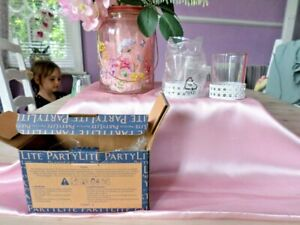 PARTYLITE TEALIGHT HOLDERS....NEW ITEMS in BOX....