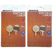 BRAKCO Sintered Disc Brake Pads AVID BB5 PROMAX DSK-710 DSK-720