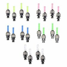 10 Pack of Led Flash Tyre Wheel Valve Cap Light For Car Bike Bicycle