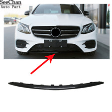 Without Luxury Made Of ABS Plastic MB1044130 New Front Lower Bumper Cover Molding For 2017-2017 Mercedes E300 /& E400 Sedan and Wagon Chrome Finish
