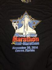 Small Running Shirt Space Coast Marathon 2014 Safe Wick Tech Polyester Runner