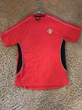 Manchester United Soccer Futbol Shirt Short Sleeve NEW Athletic Official