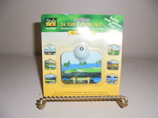 Stylo Dex Address Files Tab Cards A-Z Golf Courses Office Business Supplies New
