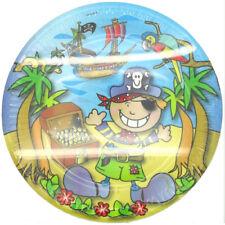 8 Party Pirates Kids Birthday Paper Plates 23cm