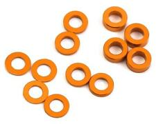 ProTek RC 8375 Aluminum Ball Stud Washer Set (Orange) (12) (.5mm, 1.mm & 2.mm)